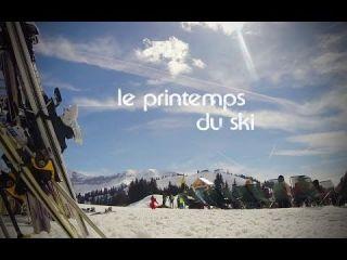 Printemps du ski à Megève / Spring skiing in Megève